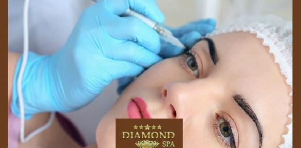 Перманентный макияж всалоне красоты Diamond SPA
