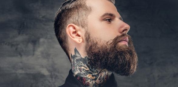 Стрижка, моделирование бороды вбарбершопе :КультЪ: