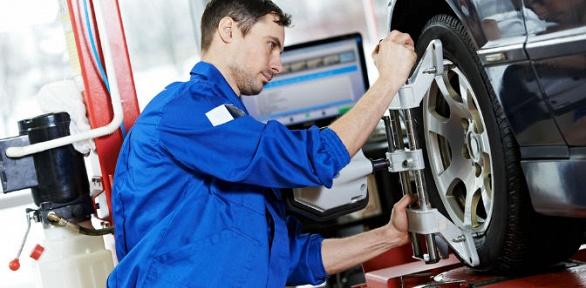 Регулировка развала-схождения осей автомобиля оттехцентра GoldCar Motors