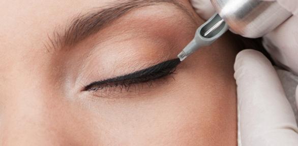 Перманентный макияж бровей, век или губ всалоне TeAmo Lab