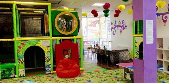 Посещение игровой комнаты «Сказка» вдетском игровом центре Bim-Bom