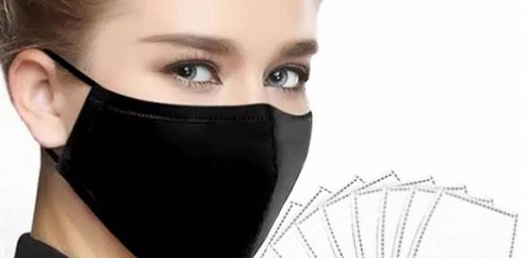 Многоразовые защитные маски сфильтрами
