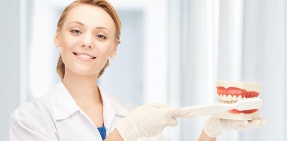 Ультразвуковая чистка зубов вклинике «Глория-Дент»