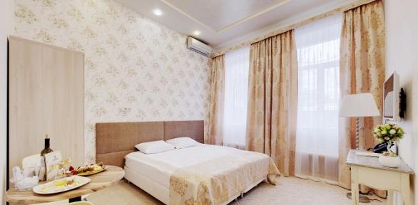 Отдых висторическом центре Москвы для двоих вмини-гостинице