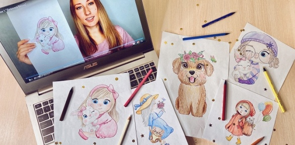 Онлайн-доступ курокам рисования отпроекта Art.Online.Yara
