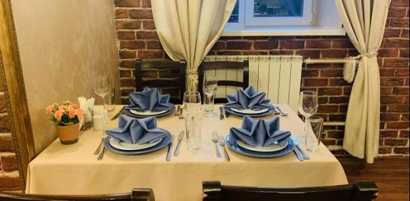 Банкет сзакусками, салатами, горячим блюдом идесертом вкафе «Романо»