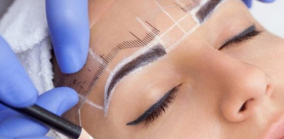 Ламинирование, окрашивание, архитектура бровей или макияж всалоне «Визаж»