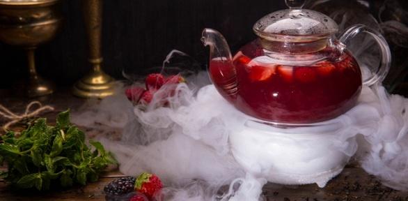 Чаепитие спаровым коктейлем исладостями влаундж-кафе «Налуне»