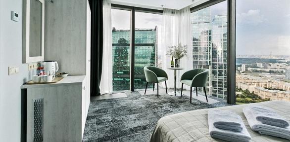 Отдых вотеле «Панорама Сити» на53этаже