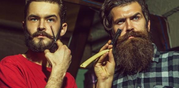 Мужская, детская стрижка, оформление истрижка бороды вбарбершопе «ПижонЪ»