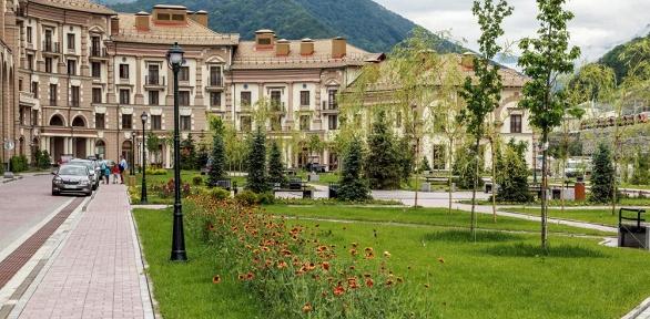 Отдых вСочи вапартаментах отеля «Горки город» оттурагентства Nice Trip