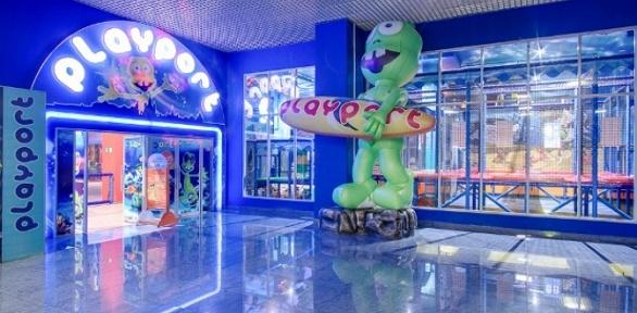 День развлечений для детей ивзрослых вразвлекательном центре Playport