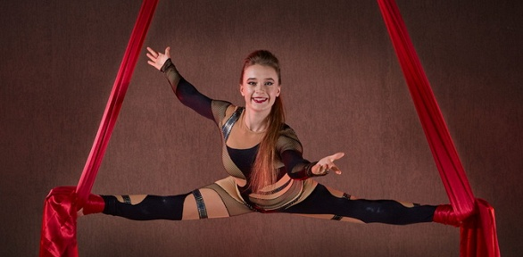 До16занятий встудии воздушной гимнастики Light Air Dance