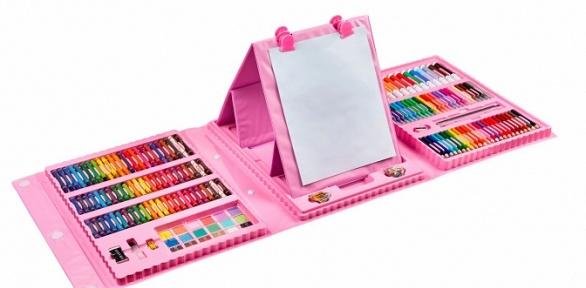 Розовый или голубой набор для рисования итворчества