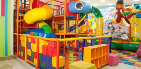 Посещение детской игровой зоны вкафе «Лето»
