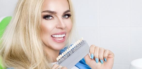 Отбеливание зубов попрограмме «Премиум» всети студий Smile Bar