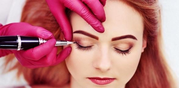 Перманентный макияж губ, век или микроблейдинг бровей в студии Beauty Zone