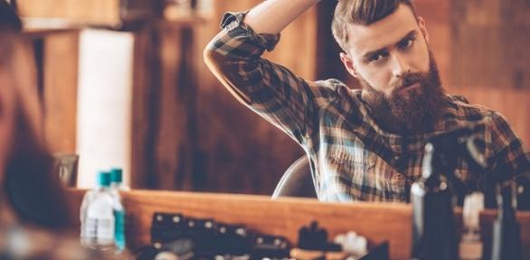 Мужская стрижка, коррекция бороды убарбера встудии «TarЗan Man»