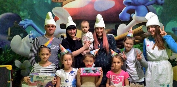 Празднование дня рождения откомпании Gipofiz Kids