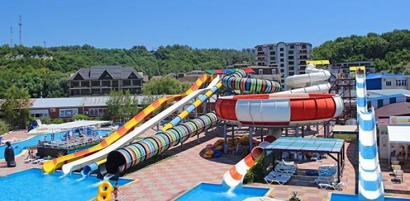 Целый день посещения напобережье Черного моря аквапарка «Лето»