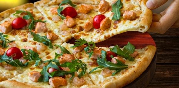 Пицца отсети «Чикибамбони» заполцены