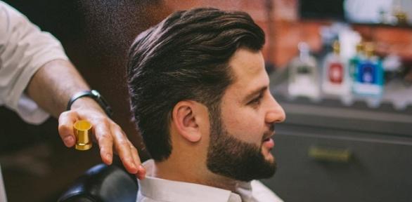 Мужская стрижка, оформление бороды отбарбершопа Alif