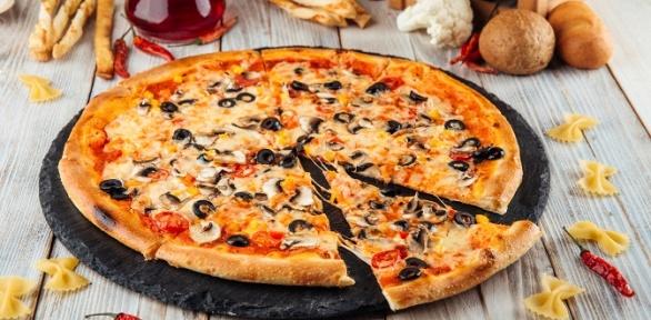 Всё меню пиццы отдоставки «МистерЧу» заполцены