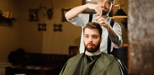 Мужская стрижка, стрижка бороды вWrong Barbershop