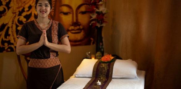 Тайский массаж, SPA-программа вCrown Thai SPA