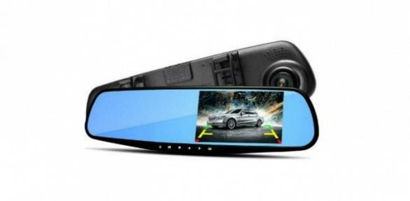 Зеркало-видеорегистратор Vehicle Blackbox DVR Full HD