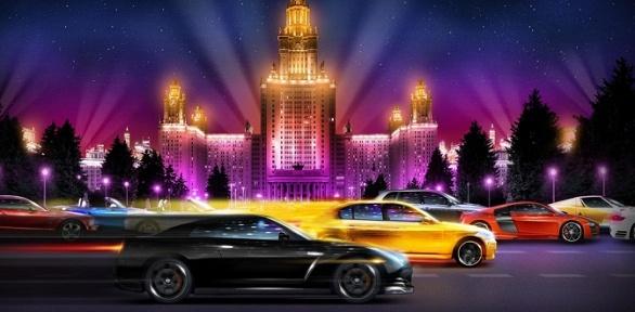 Участие вночных автоквестах отклуба NewRoadGames