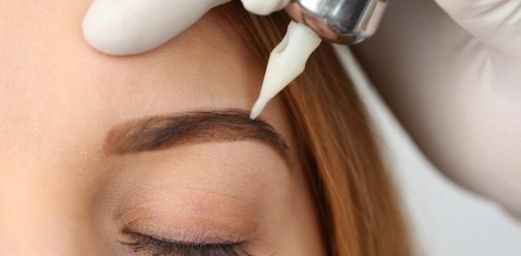 Перманентный макияж бровей отстудии «Кластер красоты»