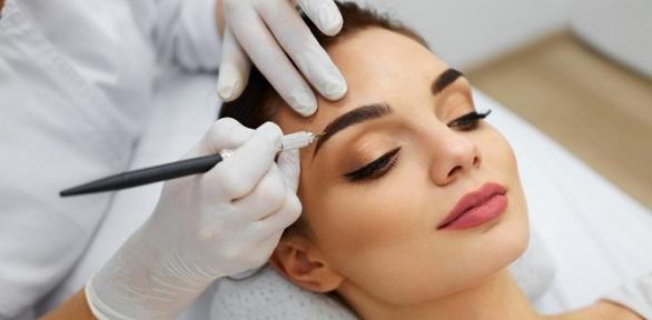 Перманентный макияж бровей, глаз или губ всалоне красоты «Жанет»