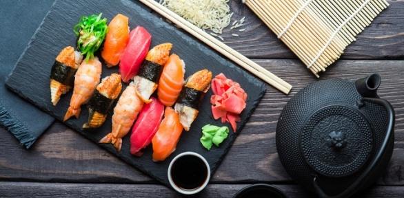 Суши-сет навыбор отресторана доставки «Суши №1»