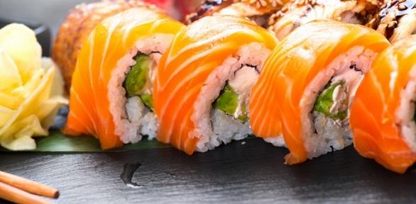 Суши-сет №1, №2или №3отслужбы доставки Sushi Aki заполцены