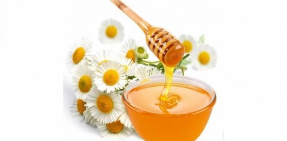 Гречишный или цветочный мёд либо чай
