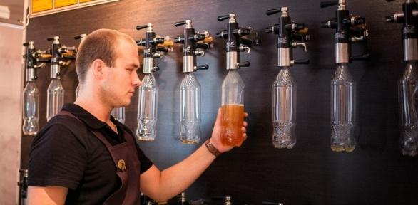 Разливные пенные напитки вмагазинах-барах «Игристый24» заполцены