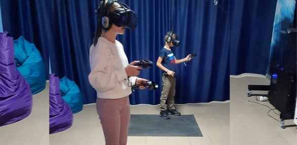 Игра ввиртуальной реальности отVR-клуба «Навигатор»