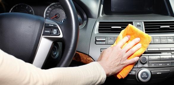 Химчистка автомобилей вавтокомплексе «Диагностика»