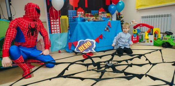 Проведение детского праздника вцентре «Киндер Бум»