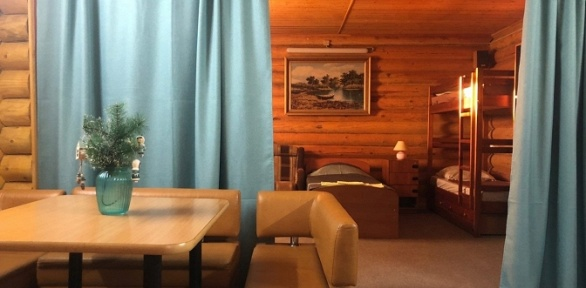 Отдых наберегу озера Неро вгостевом доме Dom Okhotnika