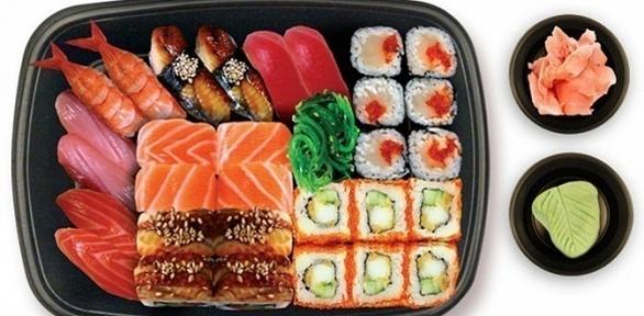 Всё меню кухни изресторана Prosushi заполцены