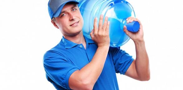 Доставка бутылей питьевой воды «Романовская» заполцены