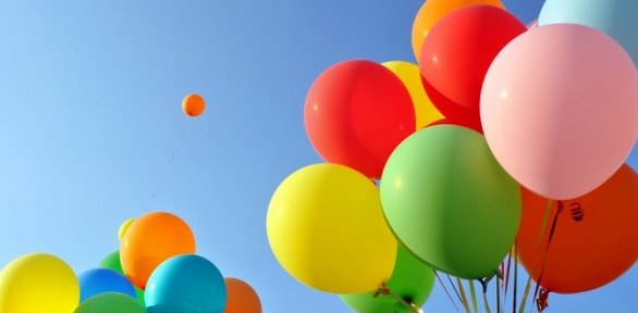 Гелиевые шары или упаковка подарков вбумагу