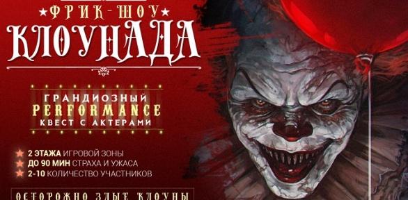 Участие вквесте сактерами «КлоунАда» отстудии ZQuest