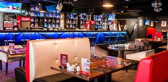 Блюда инапитки навыбор всети ресторанов-клубов Crazy Mix заполцены