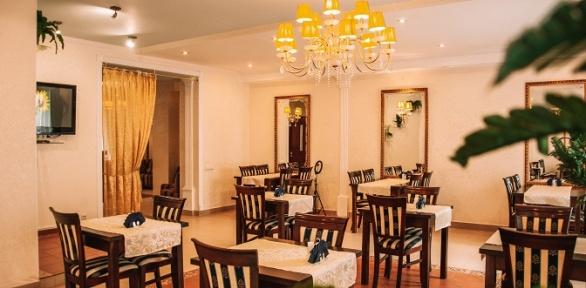 Ужин для двоих или троих вкафе PiterStar