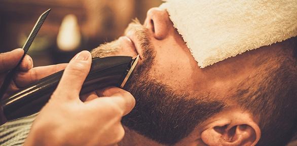 Мужская стрижка вбарбершопе «Дроздов Barber Family»