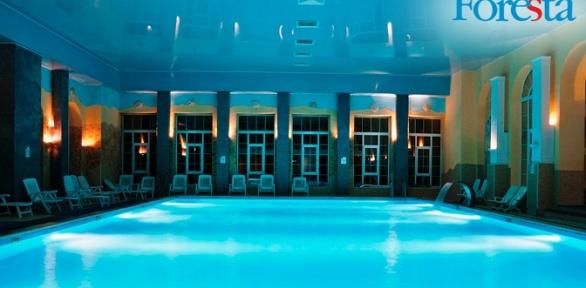 Отдых спитанием, посещением бассейна исауны вотеле Foresta Festival Park