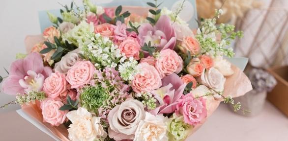 Букеты, цветочные композиции
